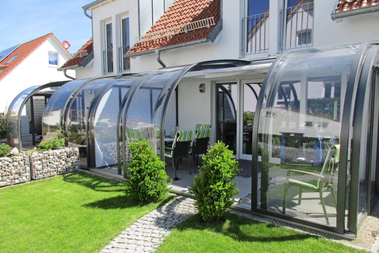 Cabrio Wintergarten Mit Solar Effekt